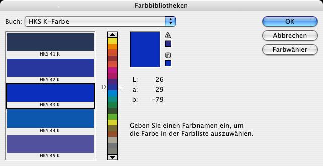 Welche Pantone- und HKS- Paletten für Buchcover? - Adobe InDesign ...